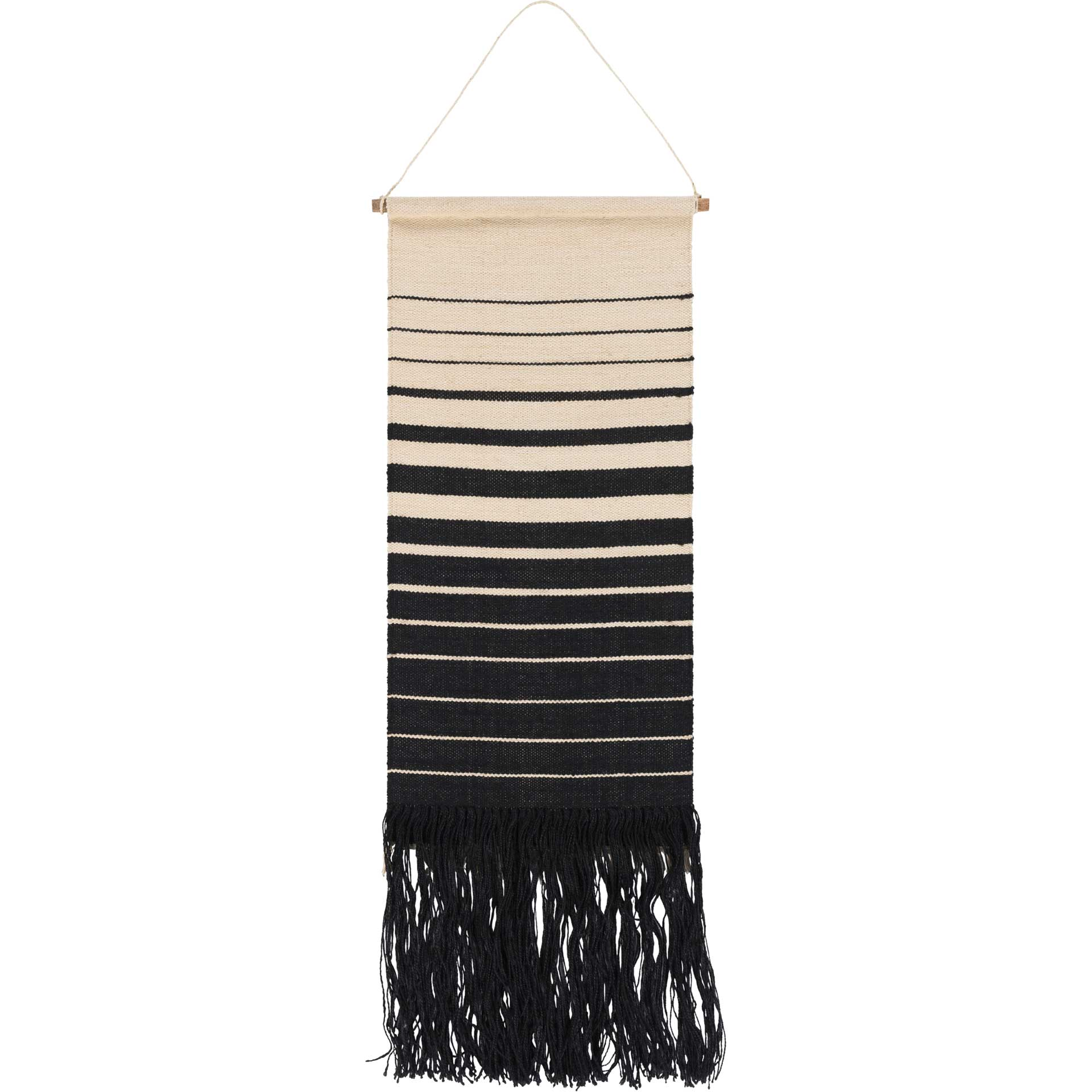 Kailani Wall Hanging Black/Cream