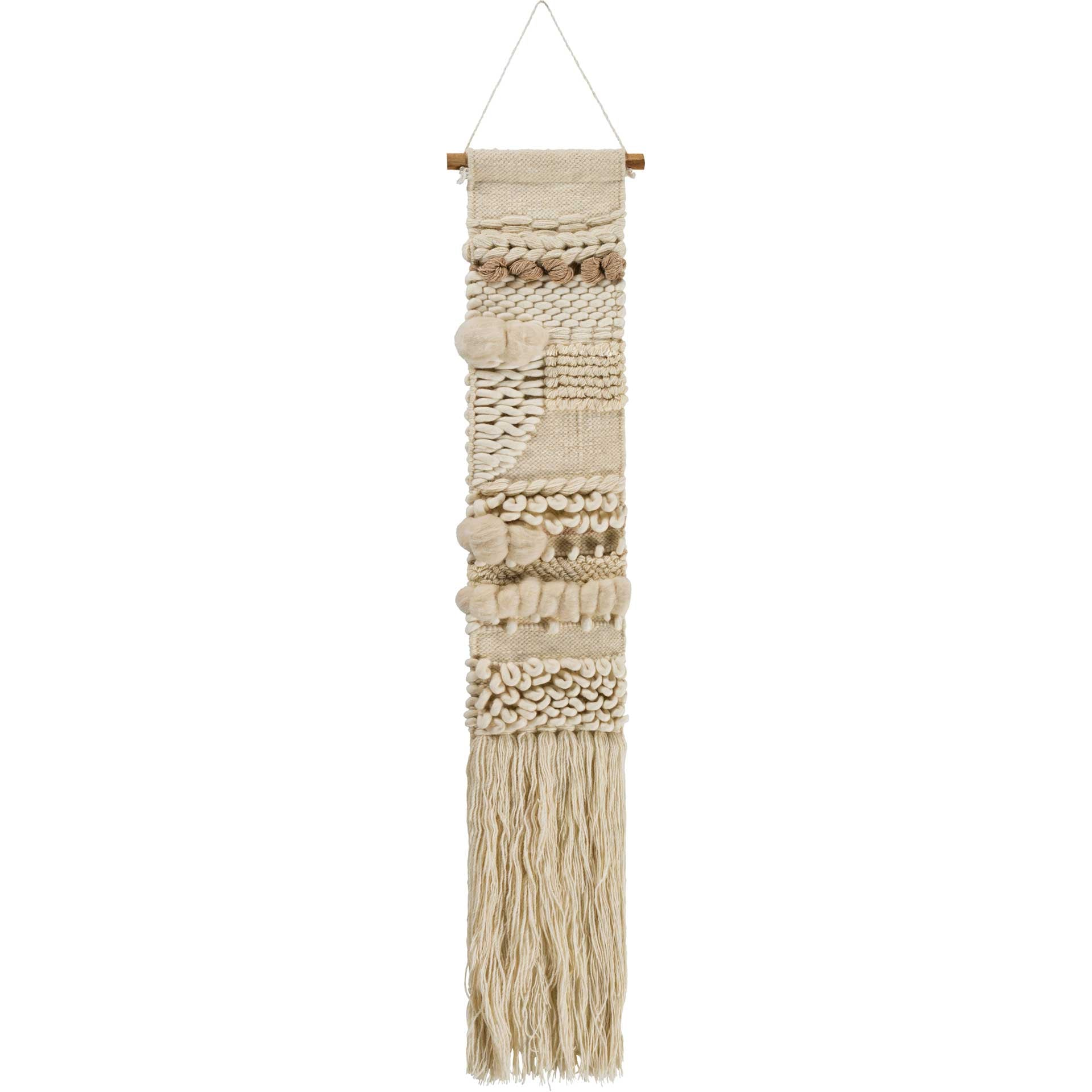 Kailani Wall Hanging Cream/Wheat
