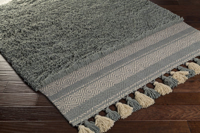 Korva Moss/Light Gray/Gray Area Rug