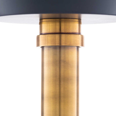 Kori Ceiling Lamp Charcoal/Gray/Brass