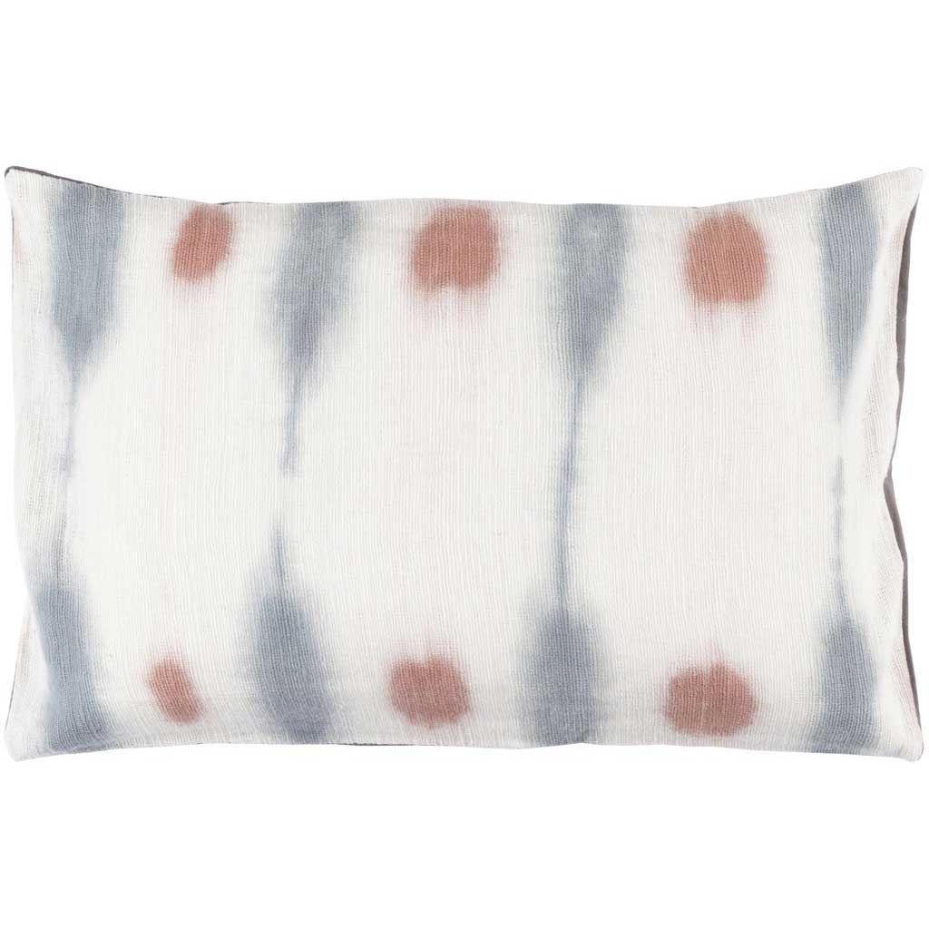 Kumo Cream/Gray/Rose Lumbar Pillow