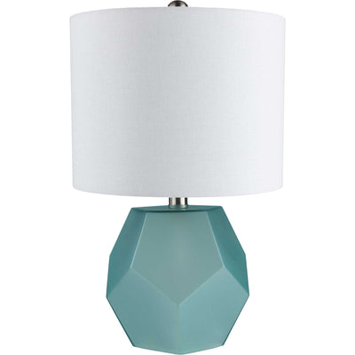 Keanu Table Lamp Sky Blue/White/Aqua