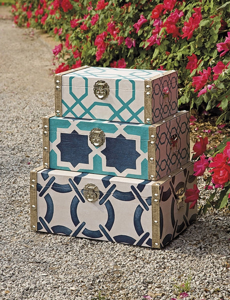 Haskell Boxes Set Of 3 Froy
