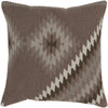 Tranquil Tribal Taupe/Light Gray Pillow