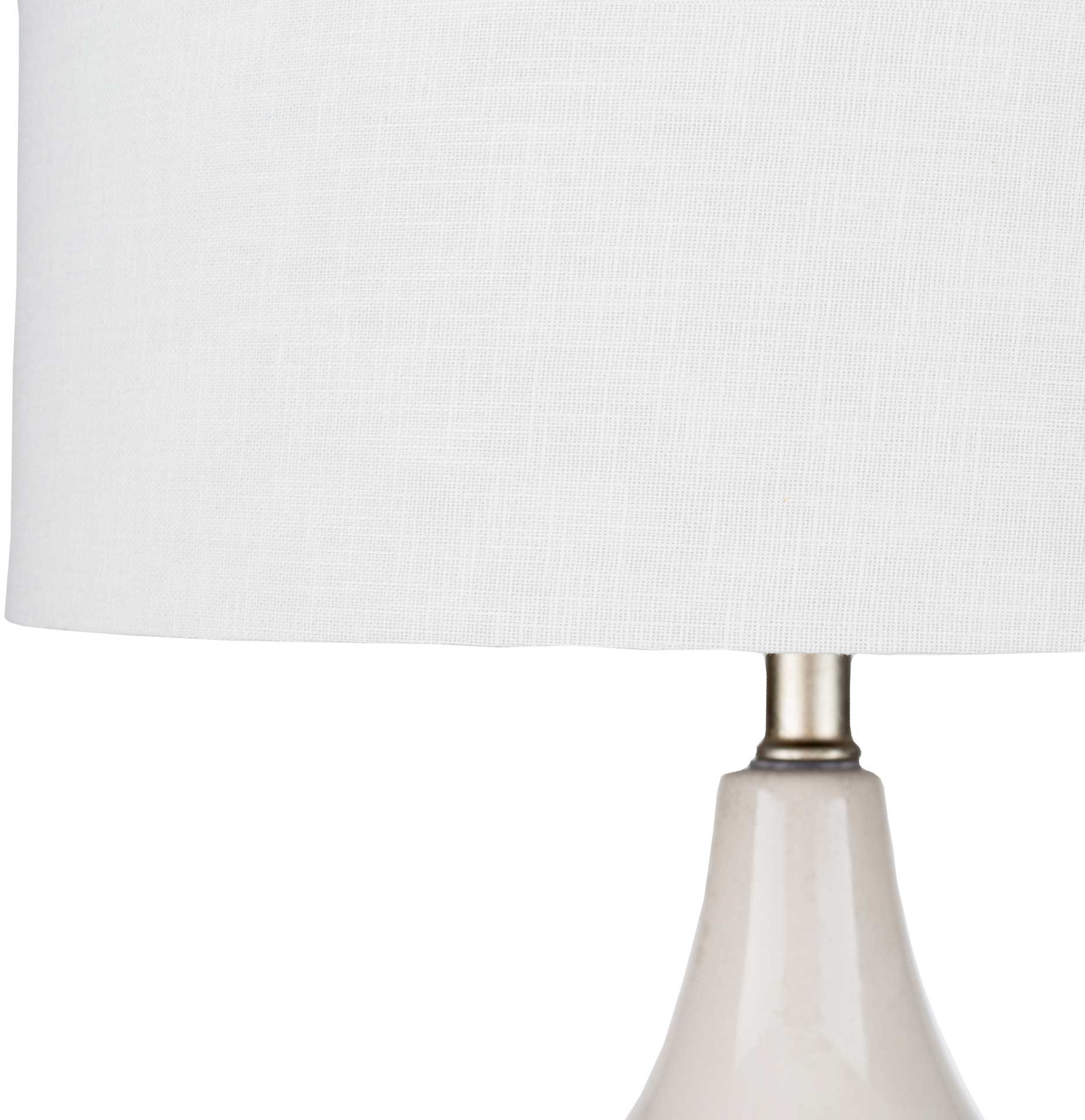 Luhan Table Lamp White/Multi-Colored/Off-White