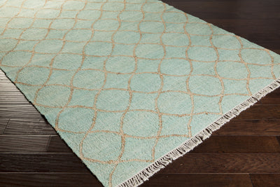 Laural Peace Ivory/Mint Area Rug