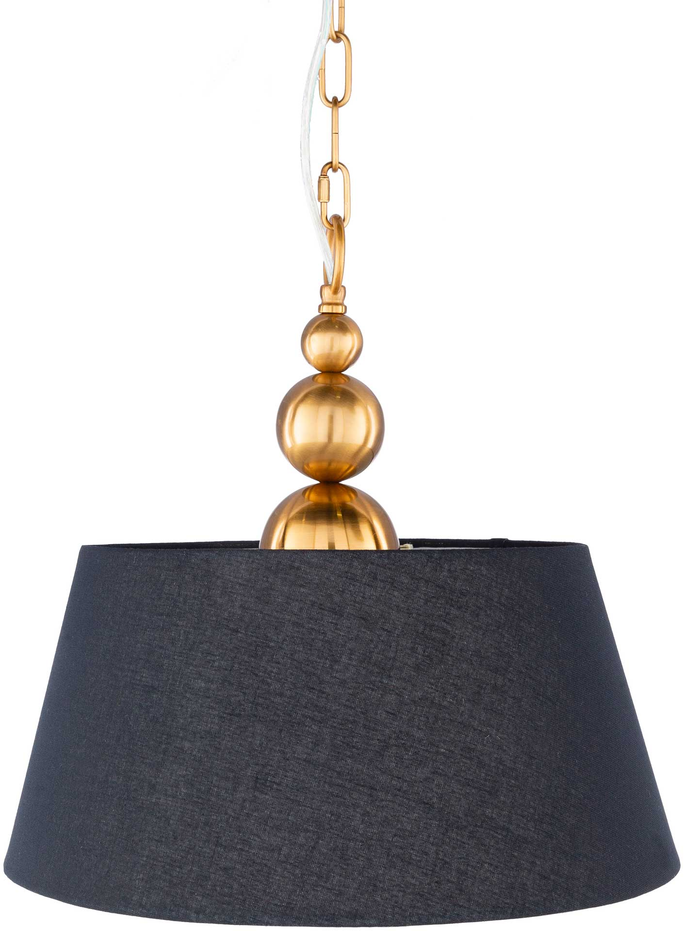 Londyn Ceiling Lamp Black/White/Brass