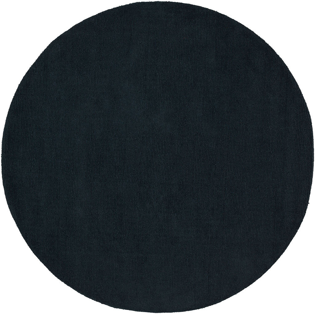 Mystique Charcoal Round Rug