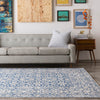 Mavrick Beige/Teal/Light Gray Area Rug
