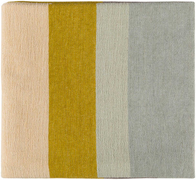 Meera Throw Mustard/Butter/Taupe
