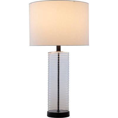 Macy Table Lamp Ivory/White