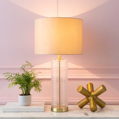 Macy Table Lamp Beige/Cream