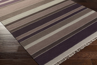 Miguel Taupe/Eggplant/Charcoal Area Rug