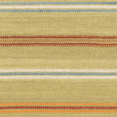 Miguel Olive/Teal/Burnt Orange Area Rug