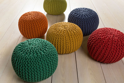Malmo Solid Moss Sphere Pouf