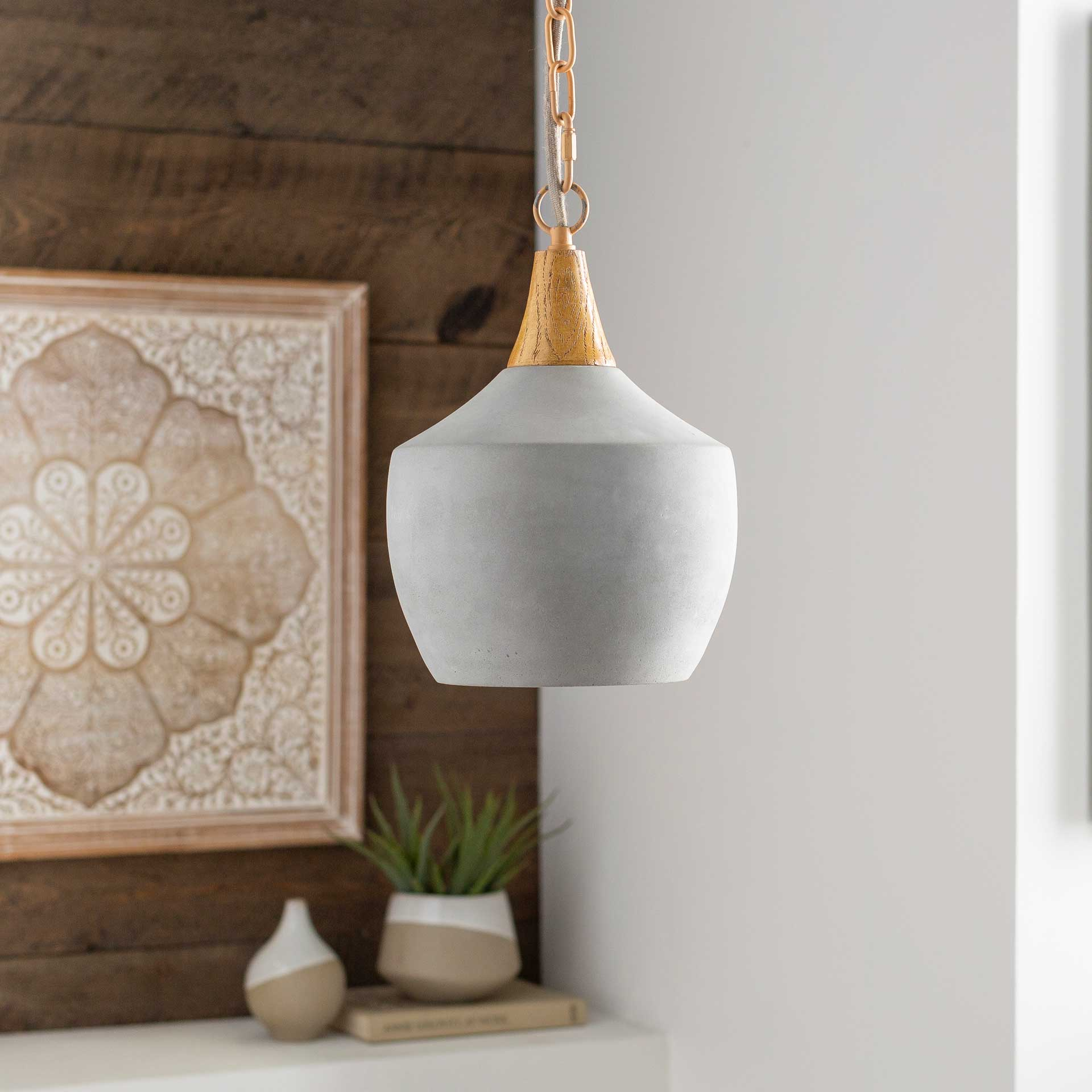 Mosella Round Ceiling Lamp Natural
