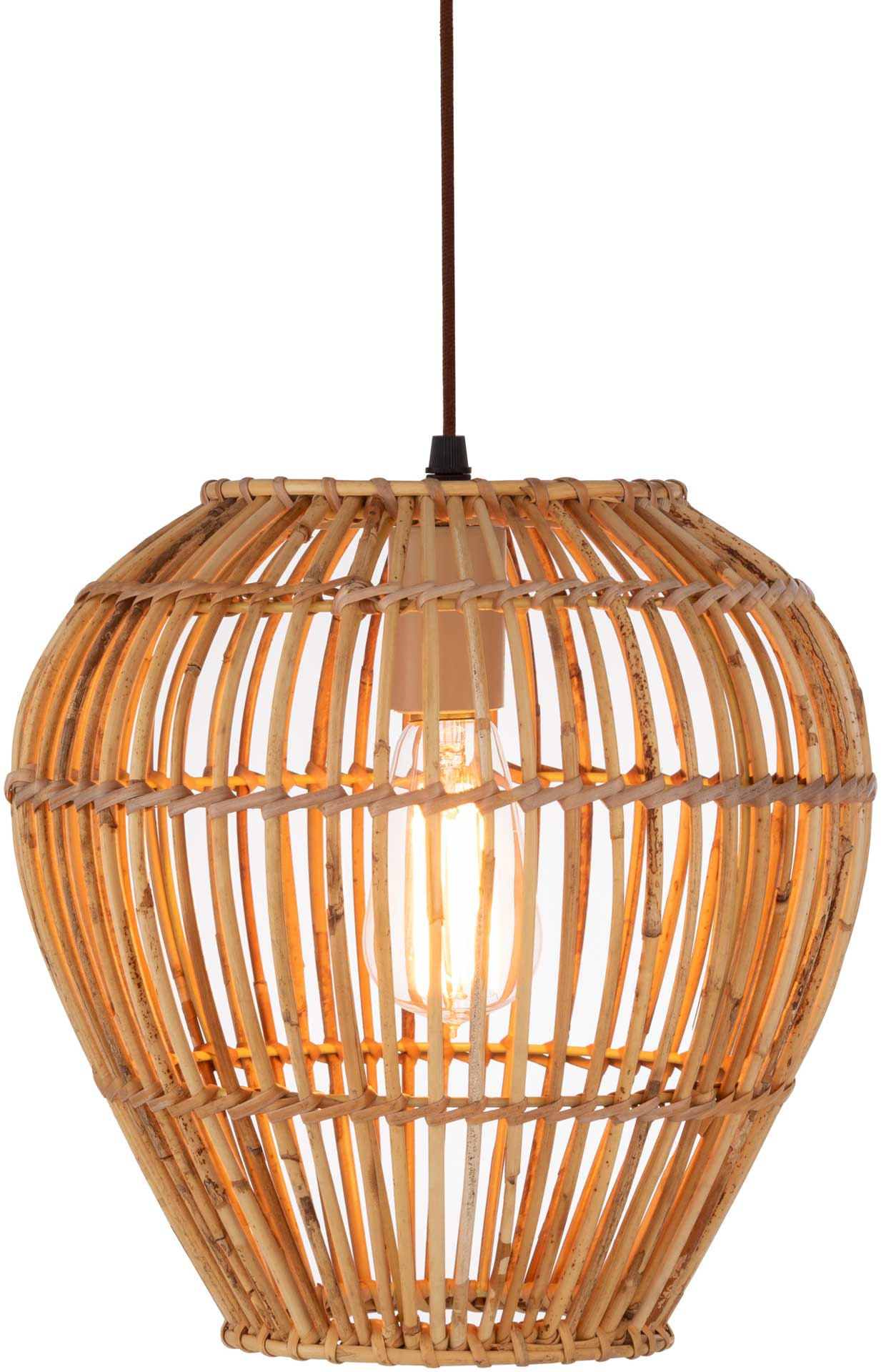 Madison Round Ceiling Lamp Natural
