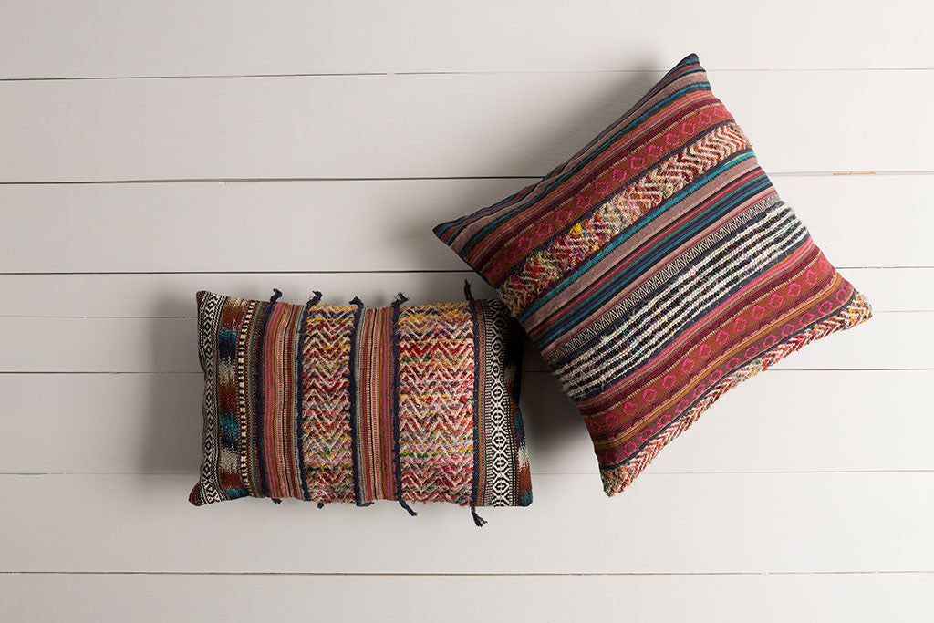 Marrakech Ivory/Gold Lumbar Pillow