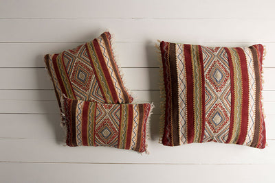 Marrakech Peach/Olive Pillow