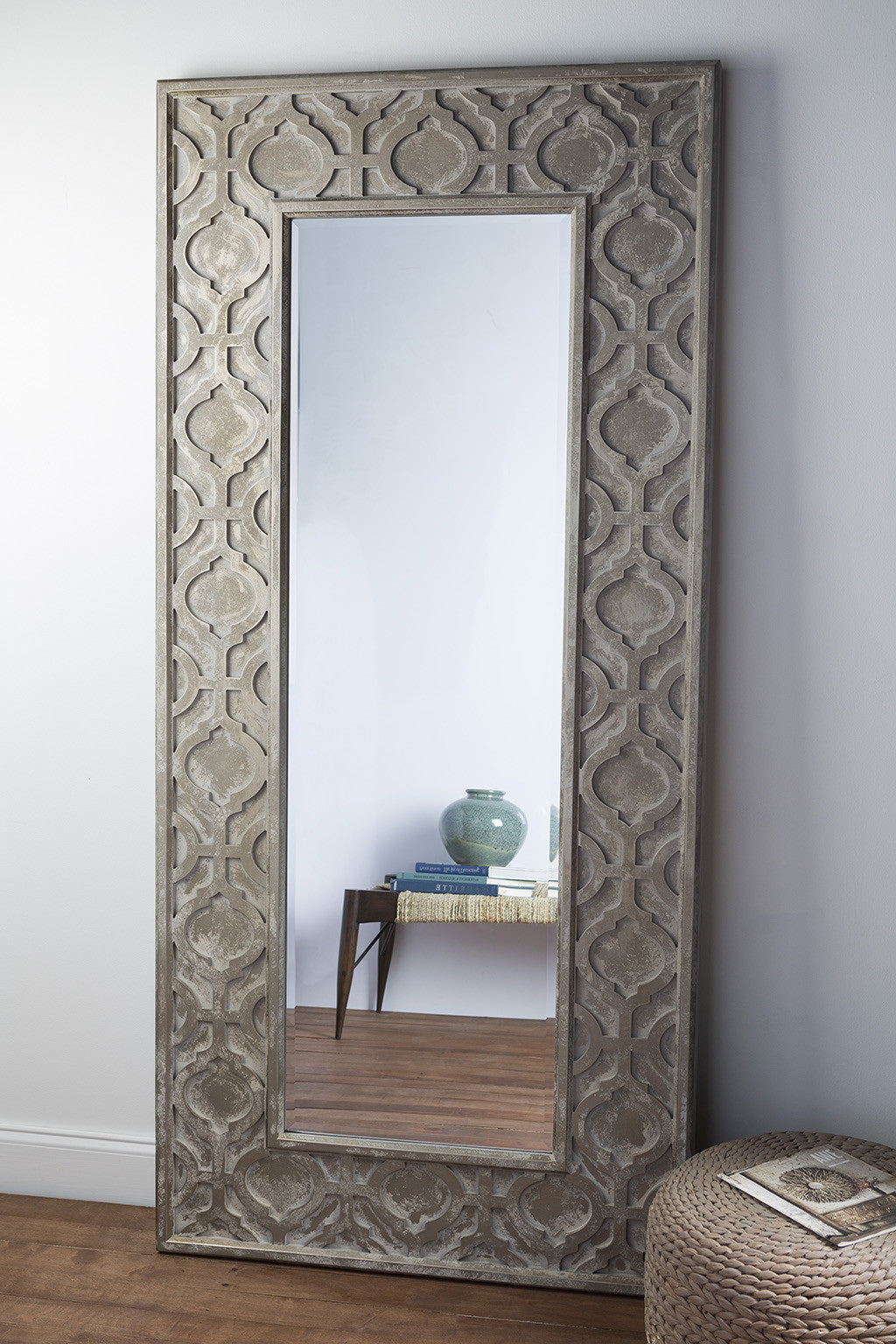 Fables Weathered Pewter Wall Mirror Froy