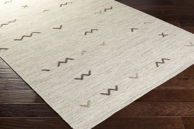 Montezuma Even Light Gray/Taupe Area Rug