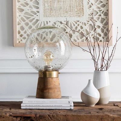 Nathan Table Lamp Clear