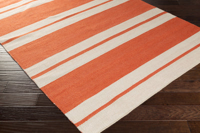 Nantucket Rust/Light Gray Area Rug
