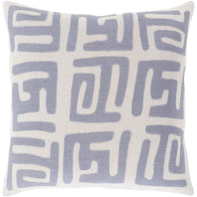 Nairobi Charcoal/Light Gray Pillow