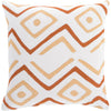 Nairobi Beige/Rust/Ivory Pillow