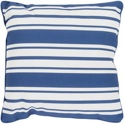 Nautical Stripe Cobalt/Ivory Pillow