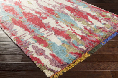 Orion Violet/Hot Area Rug