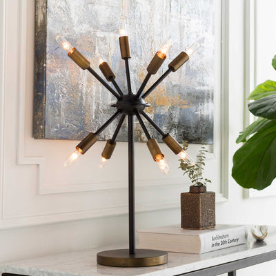 Orlando Table Lamp Black