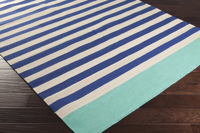 Oxford Cobalt/Light Gray Area Rug