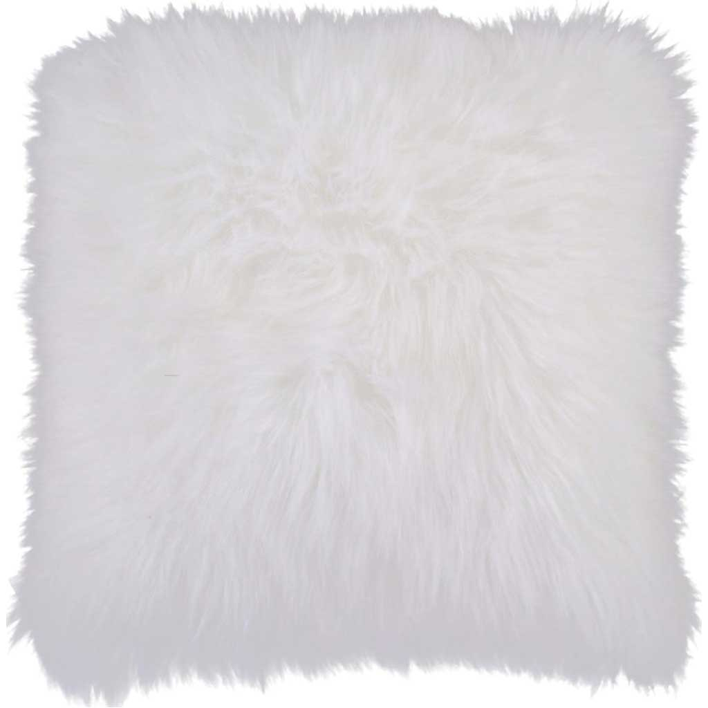 Fantastic Fluff Ivory Pillow