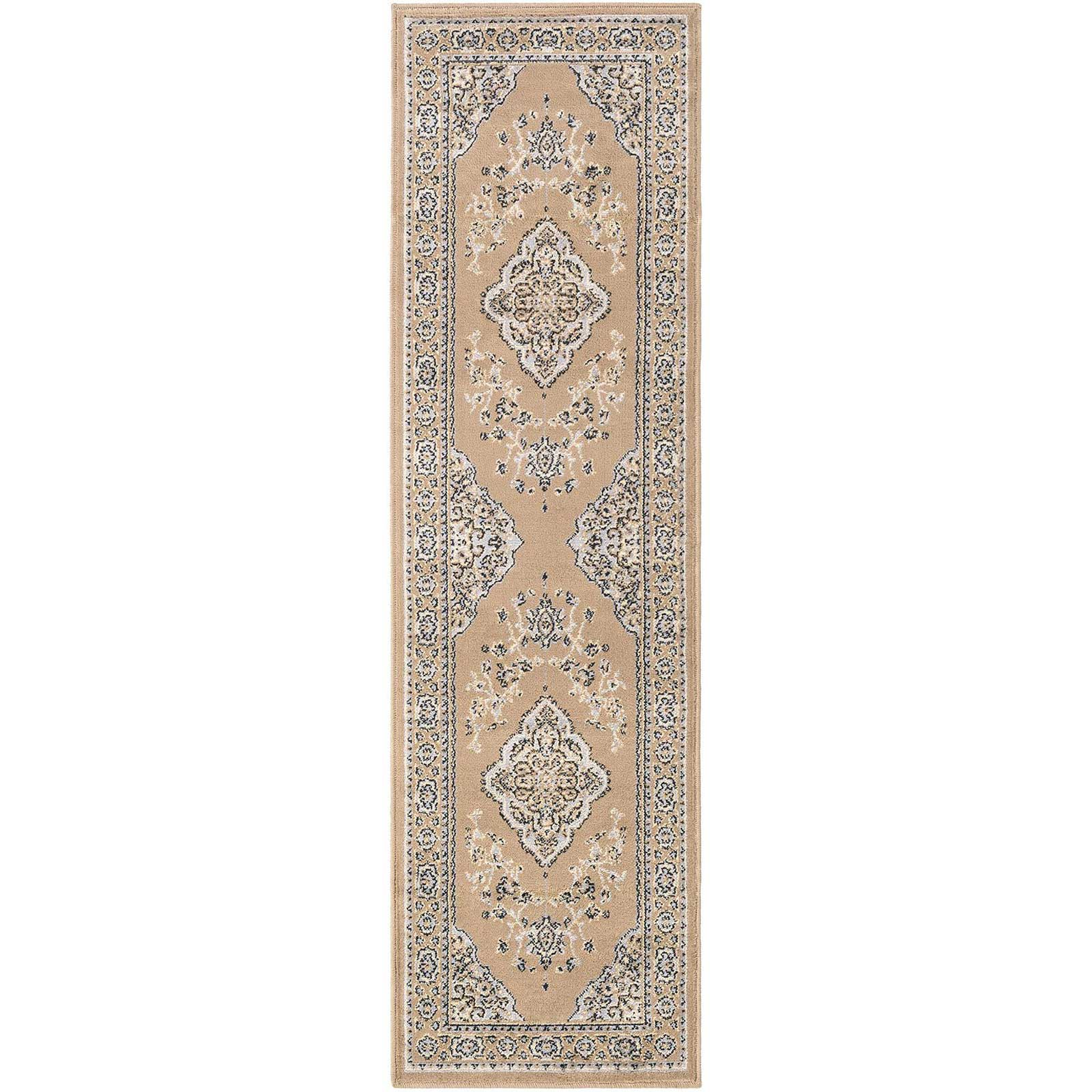 Paramount Taupe/Light Gray Runner Rug