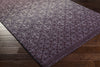 Pembridge Eggplant/Violet/Gray Area Rug