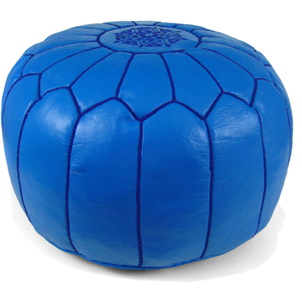 Moroccan Pouf Light Navy