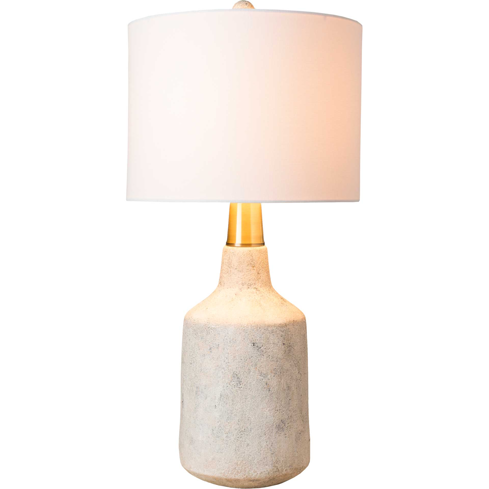 Phoebe Table Lamp White