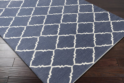 Picnic Ivory/Navy Area Rug