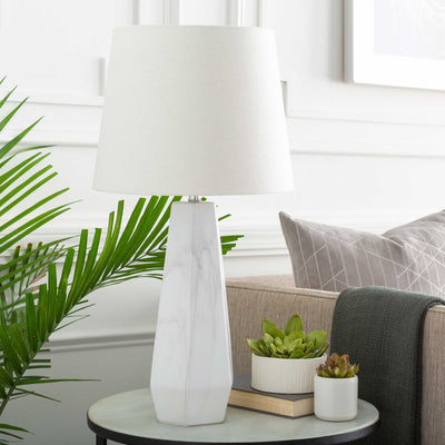Pablo Table Lamp White
