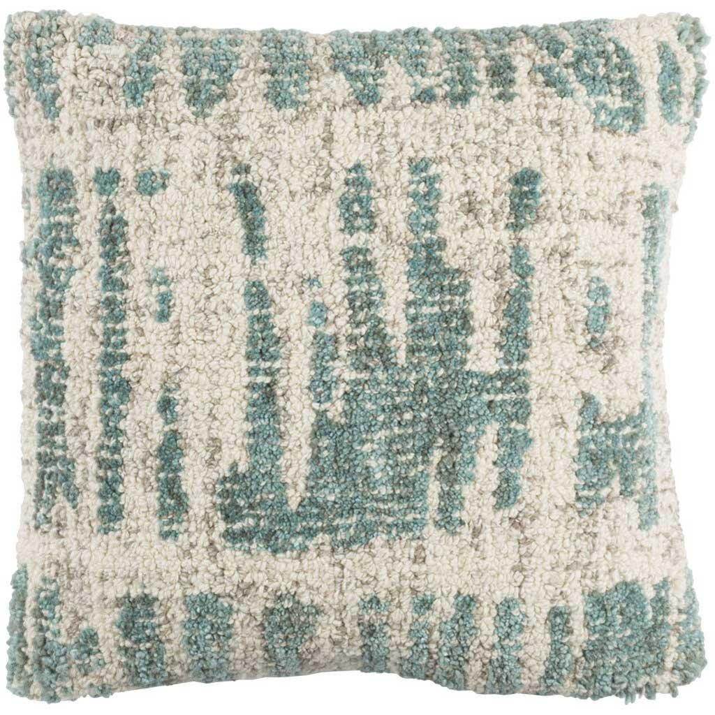 Primal Vanilla/Mint/Taupe Pillow