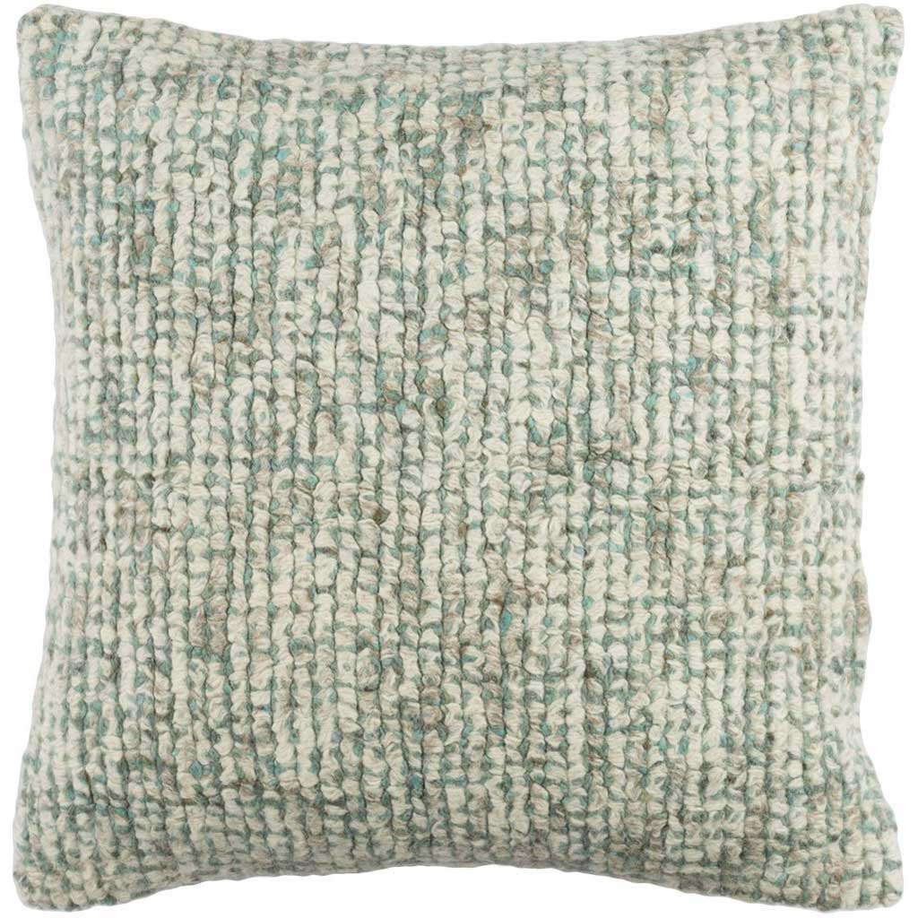Primal Cream/Agate Green/Taupe Pillow