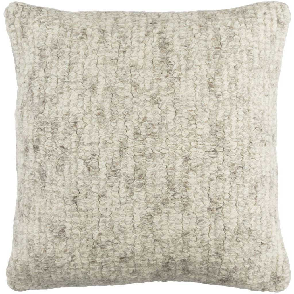 Primal Cream/Medium Gray/Taupe Pillow
