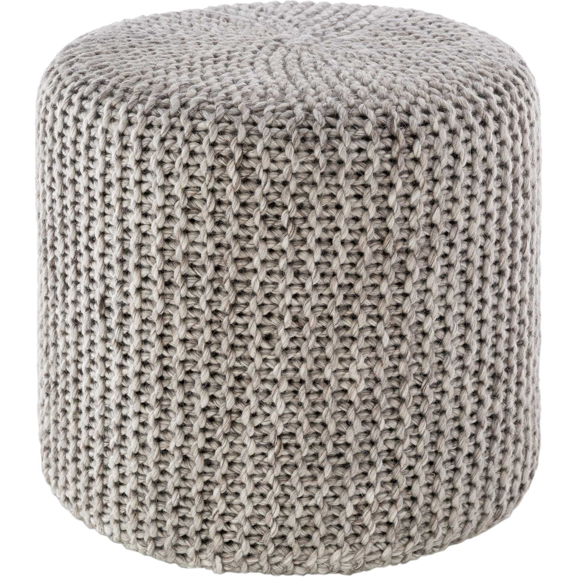 Preston Pouf Light Gray