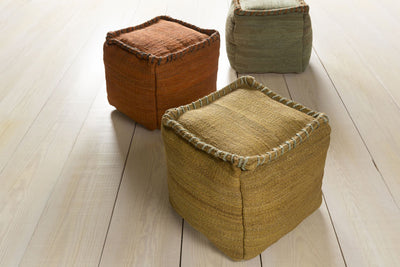 Standard Tan/Medium Gray Pouf