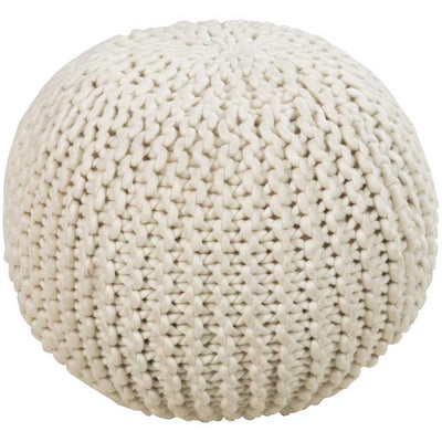 Standard Solid Neutral Sphere Pouf