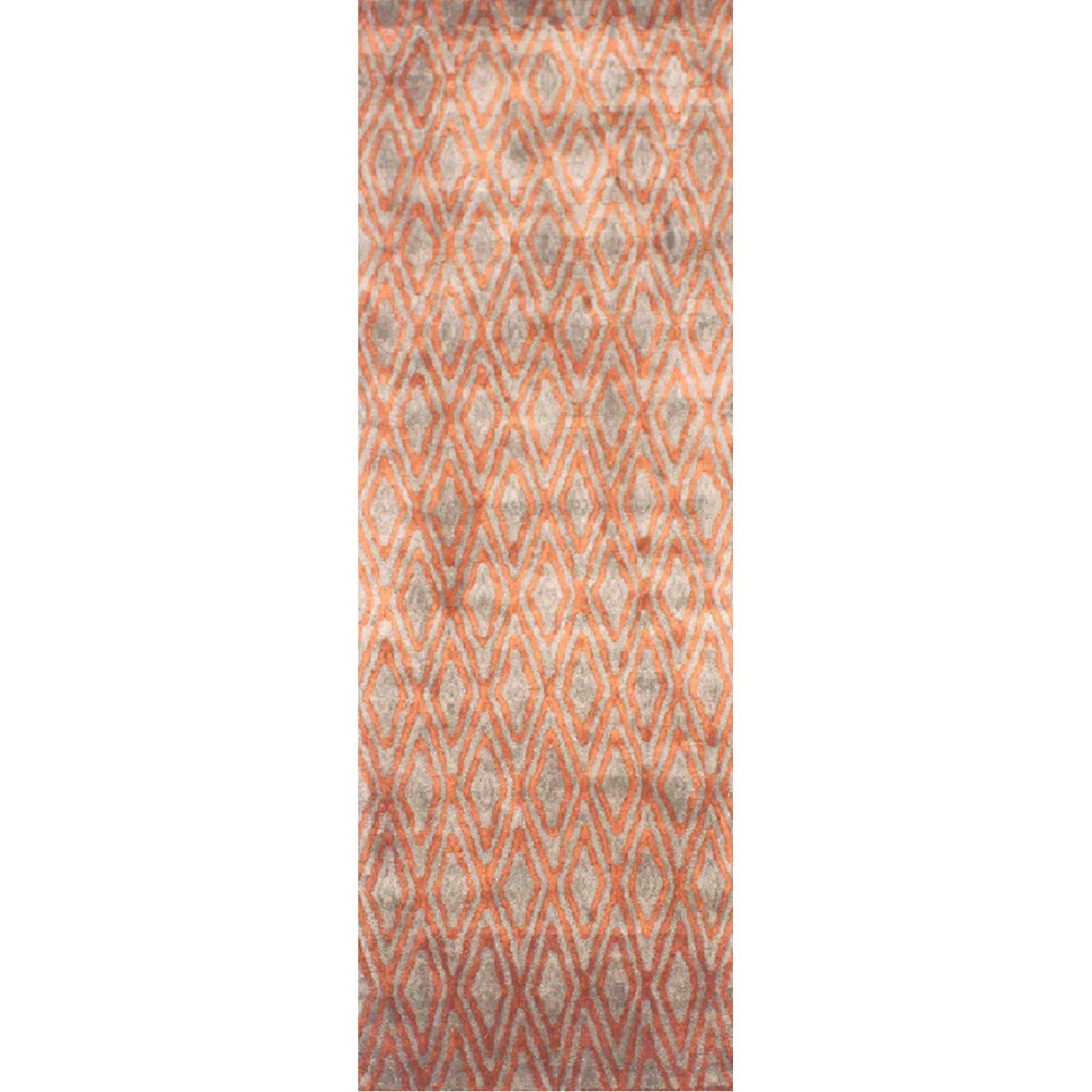 Quartz Rust/Olive Runner Rug