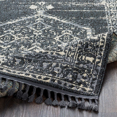 Restoration Charcoal/Cream Runner Rug