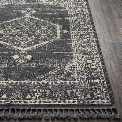 Restoration Charcoal/Cream Area Rug