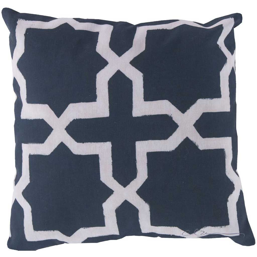 Striking Star Navy/Beige Pillow